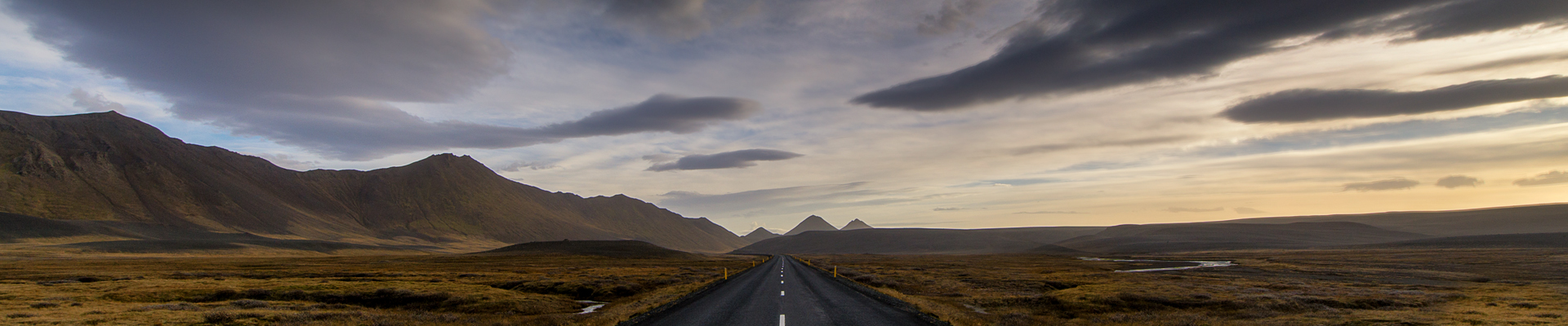 road sky